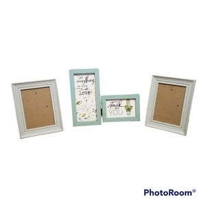 4 piece picture set 5x7 Cactus Stuck on You